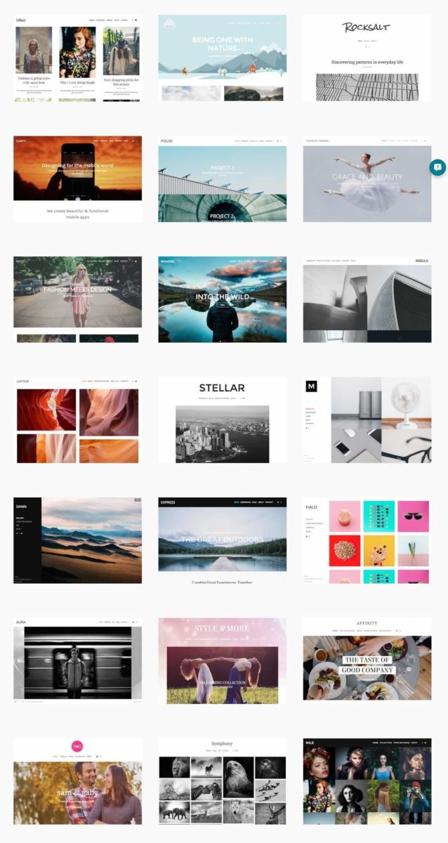 Online Portfolio Themes
