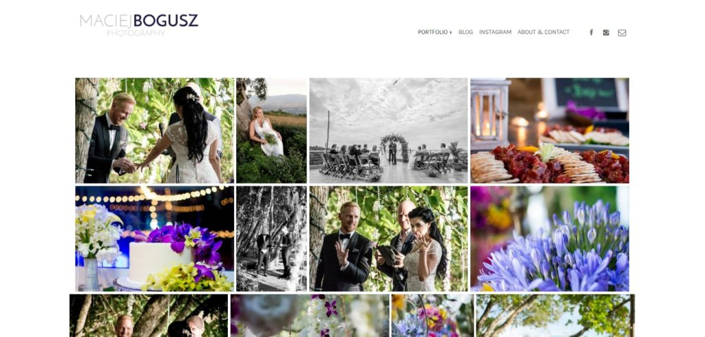 Create a Photography Portfolio Website