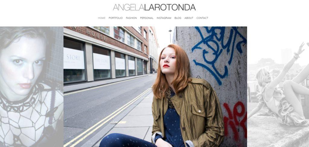 Angela Larotonda fashion portfolio