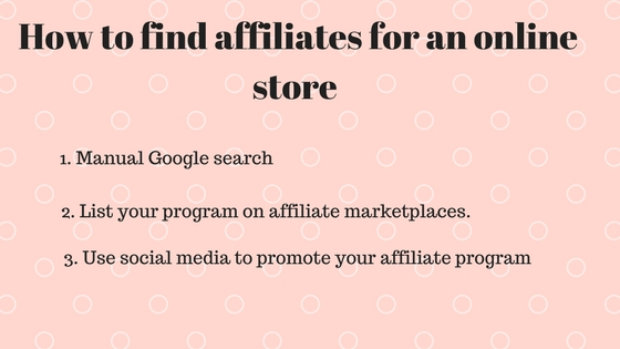 How to find affiliates for your online store-Pixpa