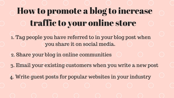 How to promote your online store-pixpa