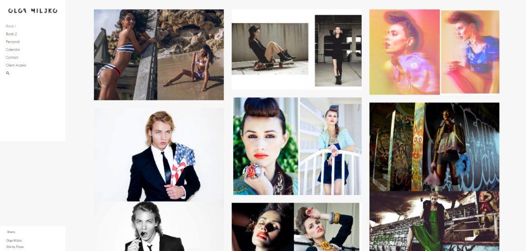 Olga Miljko fashion portfolio
