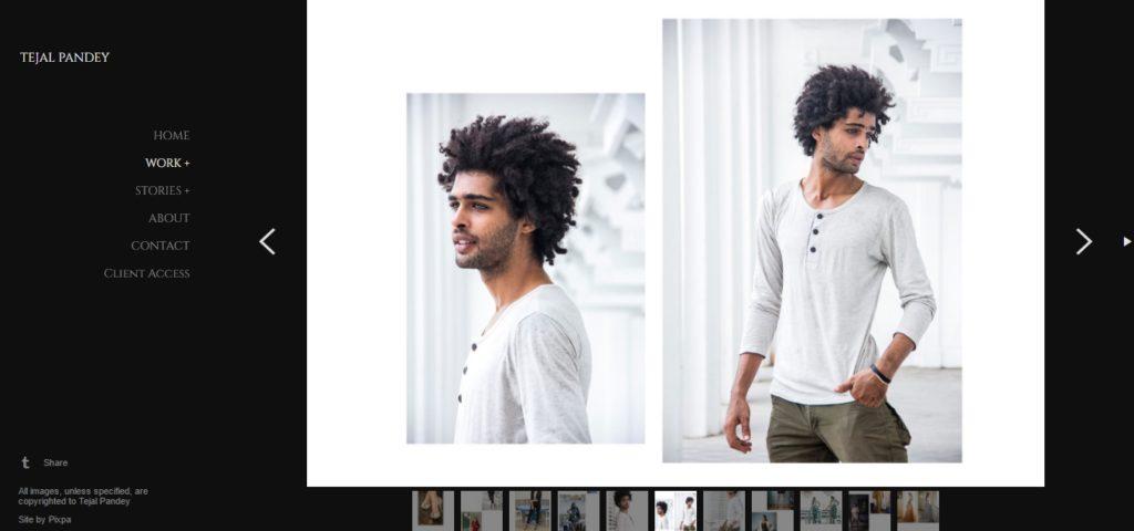 Tejal Pandey fashion portfolio