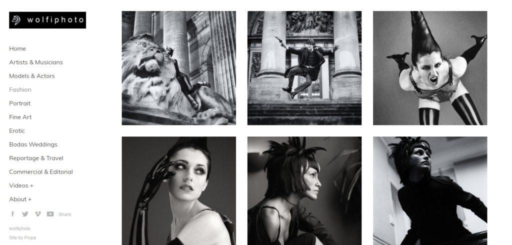 Wolfiphoto fashion portfolio